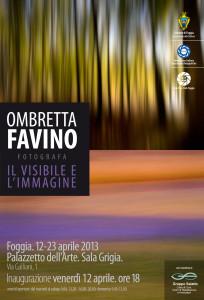 Manifesto Ombretta Favino